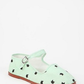 urban outfitters - Printed Mary Jane