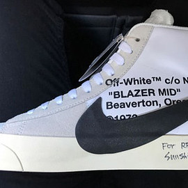 Off-White™, NIKE - Blazer