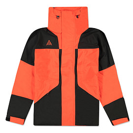 NIKE, Nike ACG - ACG Gore-Tex Hooded Jacket - Black/Habanero Red/Habanero Red