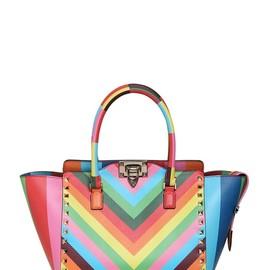VALENTINO - RESORT2015 ROCKSTUD 1973 NAPPA LEATHER BAG