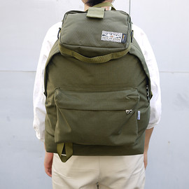 ENDS and MEANS - Daytrip Back Pack + Daytrip Pouch