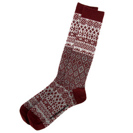 White Mountaineering - Jacquard Knit Snow Pattern Socks