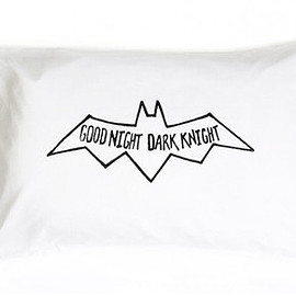 Little Pop Studios - Little Pop Studios 枕カバー/ピロケース 73×48cm Good Night Dark Knight
