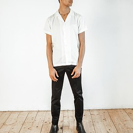 Basic Rights - Short Sleeve Camp Collar Shirt White