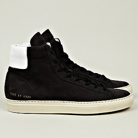 Common Projects - Vintage High Sneaker in Navy