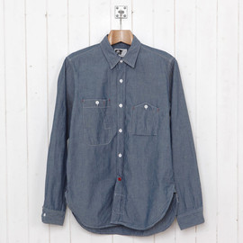 Engineered Garments - Blue Chambray Work Shirt