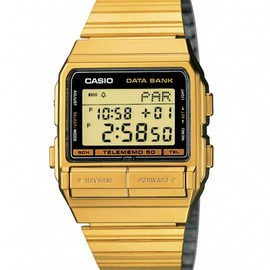 CASIO - Databank Halves - Gold