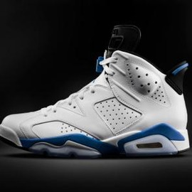 Nike - NIKE AIR JORDAN VI RETRO WHITE/SPORT BLUE-BLACK