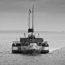 Fine Art America - Steve Purnell - The Waverley Approaches Mono Photograph  - The Waverley Approaches Mono Fine Art Print