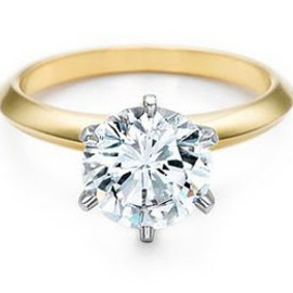 TIFFANY&Co. - The Tiffany® Setting Gold