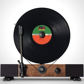 Gramovox - Floating Record Vertical Turntable