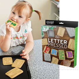 Fred & Friends - LETTER PRESSED COOKIE CUTTERS