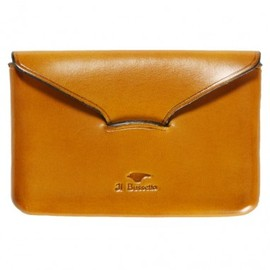 Il Bussetto - Il Bussetto Business Card Holder Yellow Leather