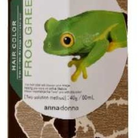 annadonna - HAIR COLOR FROG GREEN