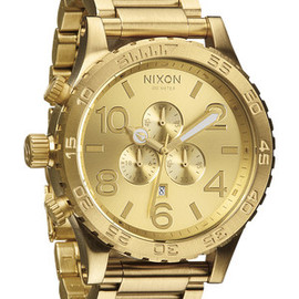 Nixon - The 51-30 Chrono - All Gold | Nixon