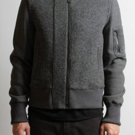 Neil Barrett - Zip Wool Jacket