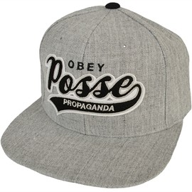 OBEY - Obey 'On Deck' Snapback Cap Heather Grey