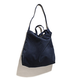 ENGINEERED GARMENTS - Carry All Tote-8w Corduroy-Navy