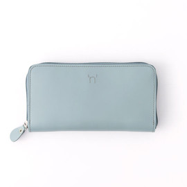 BAG'n'NOUN - LEATHER ZIP LONG WALLET SAGE