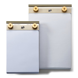 Manufactum - Aluminium and Brass Note pad