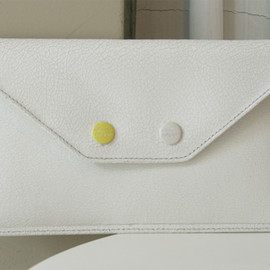 MILLIMETER MILLIGRAM - TWO BUTTONS POCKET / 01 ivory