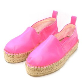 durbuy - LEATHER PRATFORM ESPADRILLE