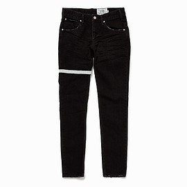 PEEL&LIFT - bovvered skinny fit jeans/black
