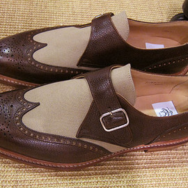 BLACK FLEECE BY Brooks Brothers - Monk Strap Shoes