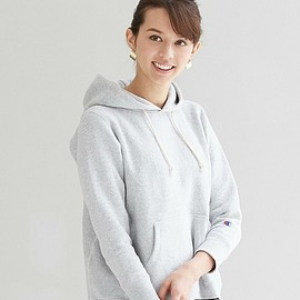 green label relaxing - champion FLA HOODED POパーカー