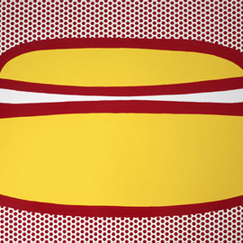 Roy Lictenstein - Hot Dog