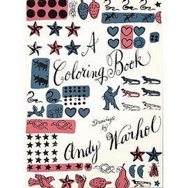 Andy Warhol - A Coloring Book: Drawings by Andy Warhol