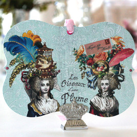 LARGE GIFT TAG (BIRDS OF A FEATHER)