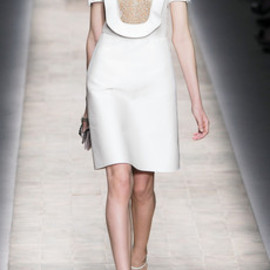 VALENTINO - Valentino Cotton & Silk White Dress