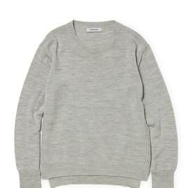 nonnative - DWELLER SWEATER WOOL SOLID