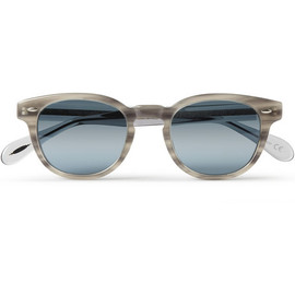 Oliver Peoples - Sheldrake Round-Frame Acetate Sunglasses