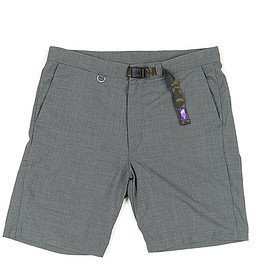 THE NORTH FACE PURPLE LABEL - COOLMAX Tropical Webbing Belt Shorts-Light Gray