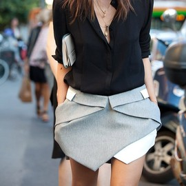 Dion Lee - Intersection Skirt