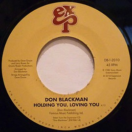 Don Blackman - Holding You Loving You (7inch)