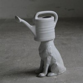Pol's Potten - Wolf watering-can white