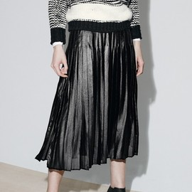 Trouvé - Trouvé Pleat Midi Skirt
