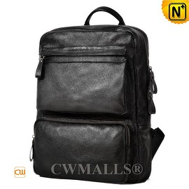 CWMALLS - CWMALLS® London Mens Leather Computer Backpack CW907006 [Leather Backpack Review, Custom Made]