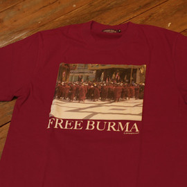 UNDERCOVER - FREE BURMA T-SHIRTS