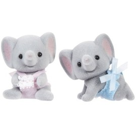 Calico Critters - Ellwoods Elephant Twins - Calico Critters