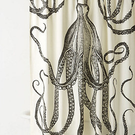 Anthropologie - Octopus Garden Shower Curtain