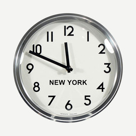 NEWGATE CLOCKS - TIME ZONE CLOCK NEW YORK