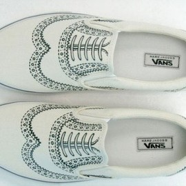 VANS, MARC JACOBS - Slip-on shoe