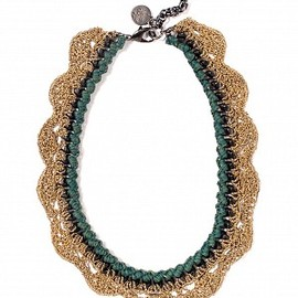 Venessa Arizaga - caught in the forest necklace