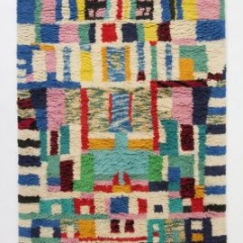 Anthropologie - Blocked Abstraction Rug
