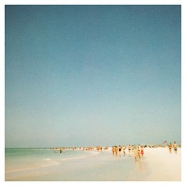 Alicia Bock - Polaroid Photograph - Florida - Summer