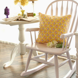 kino - rocking chair pastel pink